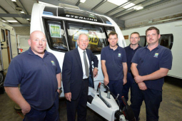 Shrewsbury caravan dealership expands workshop