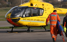 Prince William eligible for two weeks' statutory paternity leave from local charity, East Anglian Air Ambulance