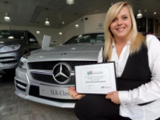 Tony Purslow Mercedes-Benz takes the first place in a new programme to boost local business.