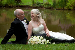 Marriage of Debra Partridge and Andy Bennett of St Neots