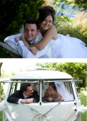 Couple from St Neots get married - September 2012