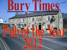 Victoria Hotel - Bury Times Pub of the Year 2012