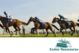 A Devon tradition at Exeter Racecourse on New Year's Day