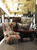Latest fabric collections in at Betley Stable Interiors