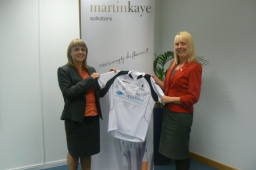 Martin Kaye Injury LLP - Raising vital cash for charity