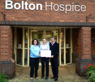 Golfers swing into action for Bolton Hospice