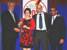 Russell Automotive Centre wins Gold Award for the 5th time