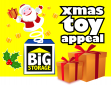 BiG Storage Lancaster Toy Appeal Launch 2012