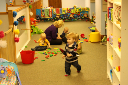 Getting Children ready for nursery in Pembrokeshire