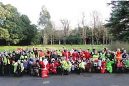 Biker Santas hits the road to bring Christmas to Children's Trust @childrens_trust