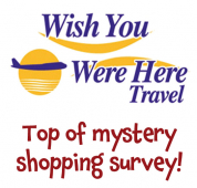 Wish You Were Here Travel St Neots gets top marks with Mystery shopper.