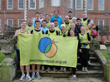 Runners Kick Start their New Year Marathon Training for The Children's Trust – and they need more runners
