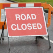 Temporary lane closure – Priory Crescent, Southend