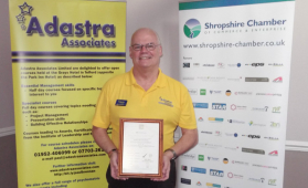 Adastra Associates Training in Telford set for continuous improvement
