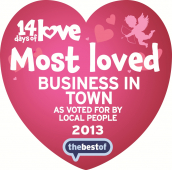 Winner of 14 Days of Love Campaign is crowned 'Most Loved Business in Town'