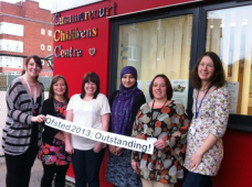Southend Children's Centre rated Outstanding!