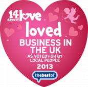 Guilford's Best Loved VA Business & 2nd Best Loved in UK