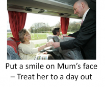 Treat mum to a day out for her special day #EpsomCoaches