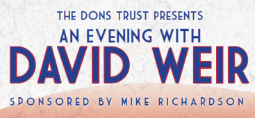 The Dons Trust is delighted to presents an Evening with David Weir