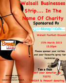 Walsall Businesses Strip for Mayor's Charity Appeal
