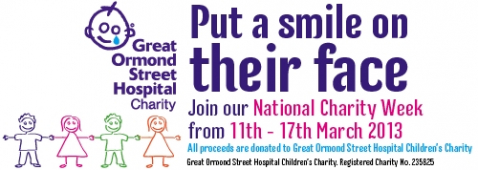 Table Table are proud sponsors of Great Ormond Street Hospital Children's Charity