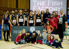 "The Fish Factory is proud to sponsor ""Worthing Thunder""…Can you hear the ROAR!"