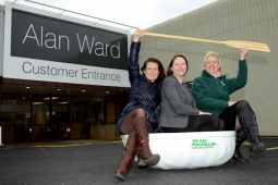 Shrewsbury furniture store helps raise nearly £20,000 for charity