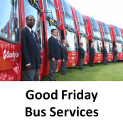 Good Friday Bus Services from Quality Line #epsomcoaches
