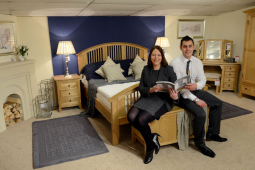 Shrewsbury furniture store unveil the first phase of £100,000 revamp