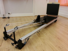 How to get a reformer machine up the stairs