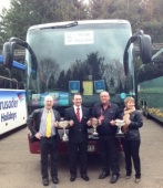 Winners all the way for Epsom Coaches at UK Coach Rally #epsomcoaches