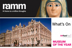 Royal Albert Memorial Museum (RAMM) and St Nicholas Priory.