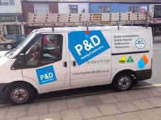 P&D Heating and Bathrooms Ltd, Farnworth, have updated their marvellous showroom and vehicles