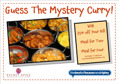 Guess the Mystery Curry and Win This Summer with Ripley's Sylhet Spice