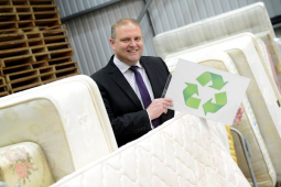 Shrewsbury furniture store celebrates recycling target