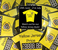 Yellow Jersey Fever Strikes at Coventry Cycle Centre!