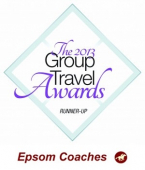 Another major award for Epsom Coaches – The 2013 Group Travel Awards #EpsomCoaches