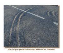 Care for your newly laid tarmacadam drive