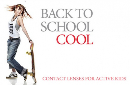 Back to School Contact Lenses for Active Kids
