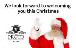Christmas is coming so celebrate in style with Proto Restaurant Group.