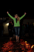 CancerCare FireWalk at Vale of Lune Rugby Club, Lancaster