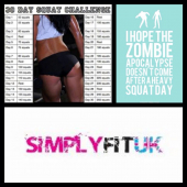 Latest blog from SimplyFitUK. - The Squat Challange