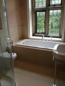 Luxury bathroom refit