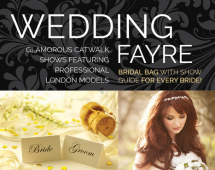 Vera Wang Floral Collection at the Sussex Wedding Fayre, Hilton Brighton Metropole