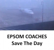 Epsom Coaches Save the day – it was Friday 13th @epsomcoachesgro