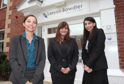Three New Trainee Solicitors at Oswestry solicitors, Lanyon Bowdler