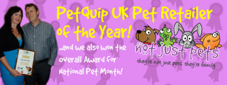 2 awards for Not Just Pets!!