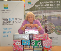 Christmas charity donations through Shrewsbury caravan dealership