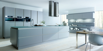 What is a 'Handle-less' kitchen?