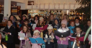 Children's Choir at Food Parties!